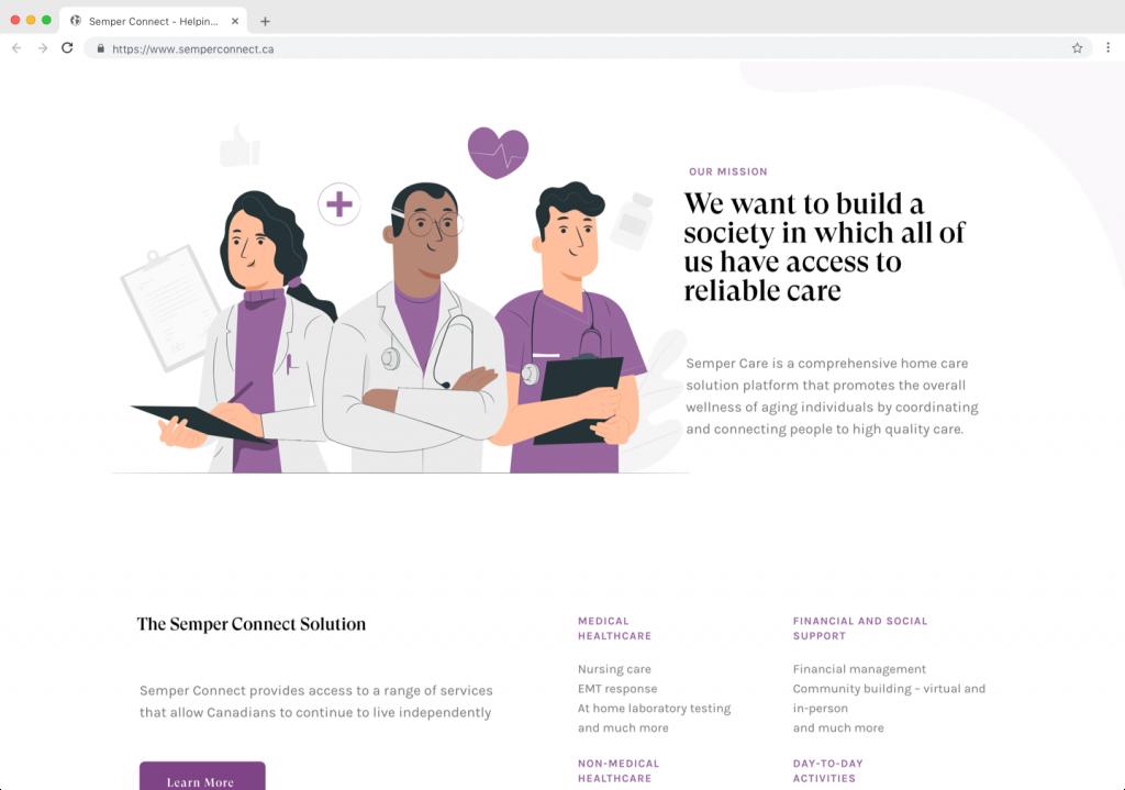 COdizajn Projekt - SemperConnect